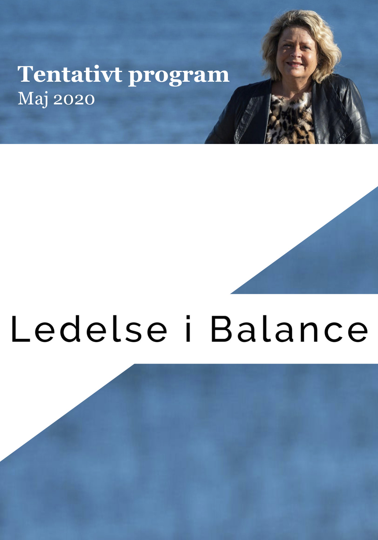 Dette er det program, som danner rammen om Ledelse i Balance